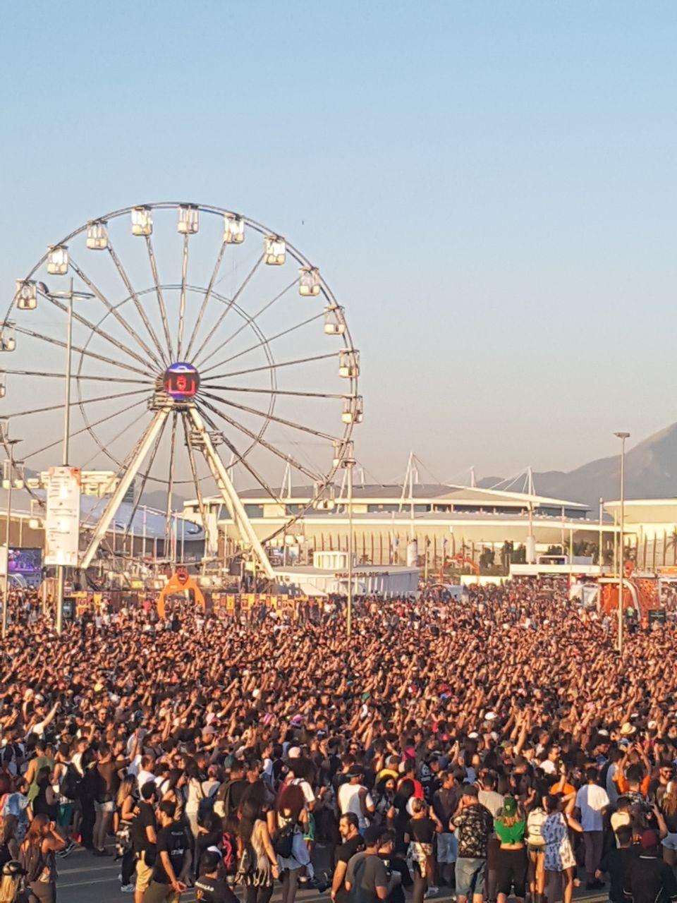 Pabblo Vittar reune multido no primeiro dia de Rock in Rio 2017 (Foto: Reproduo)