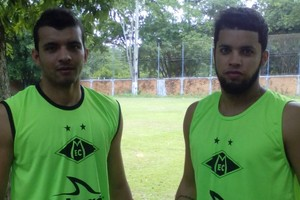 Natan e Odail Júnior, Mixto (Foto: José Carlos/Mixto EC)