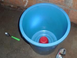Criança de 1 ano e 4 meses morre afogada em balde em aldeia de MS (Foto: Vilson Nascimento/ A Gazeta News)