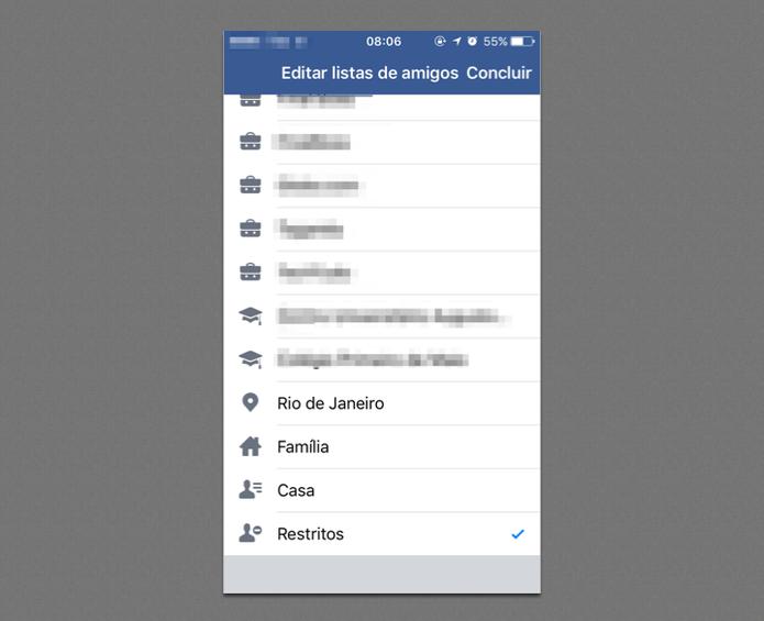 Como impedir que vejam seu Stories no Facebook e controlar privacidade (Foto: Reprodução/Felipe Vinha)