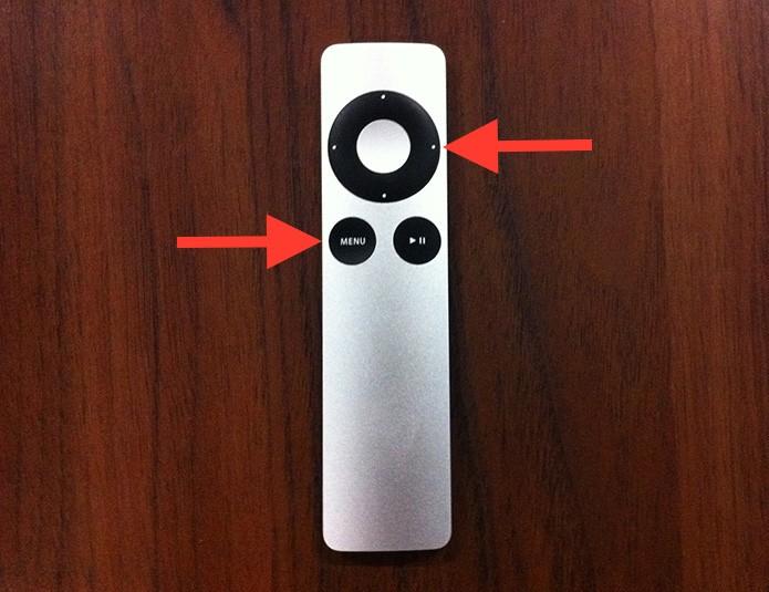 Emparelhando o Apple Remote a uma Apple TV (Foto: Reprodução/Marvin Costa)