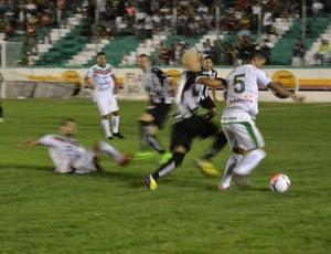 Sousa x Treze, no Marizão pela terceira rodada da segunda fase do estadual (Foto: Jéfferson Emmanuel / GloboEsporte.com/pb)