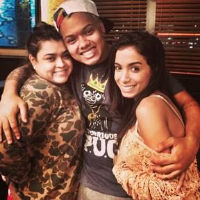 Preta Gil, Duh Marinho e Anitta (Foto: Instagram/ Reprodução)