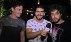 Laham, Kriwat e D'Melo estão na pista no Ceará (Reynan Braga / TV Verdes Mares)