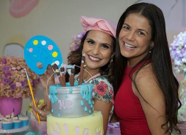 Aline BArros e Nívea Stelmann (Foto: Rafael Barros)