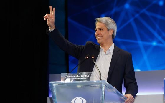 Alessandro Molon, candidato a prefeito do Rio (Foto: Gustavo Serebrenick / Brazil Photo Press / Agência O Globo)