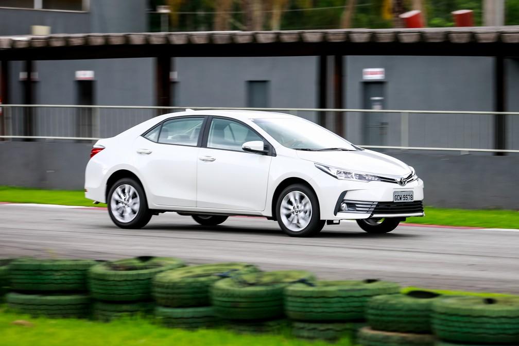 Toyota Corolla chega à linha 2018 (Foto: Fabio Tito/G1)