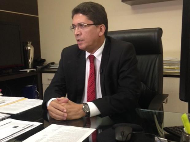 Jeferson Portela, secretário de Segurança Pública (Foto: Clarissa Carramilo/G1)