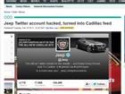 Hackers invadem Twitter da Jeep e mudam logo para Cadillac