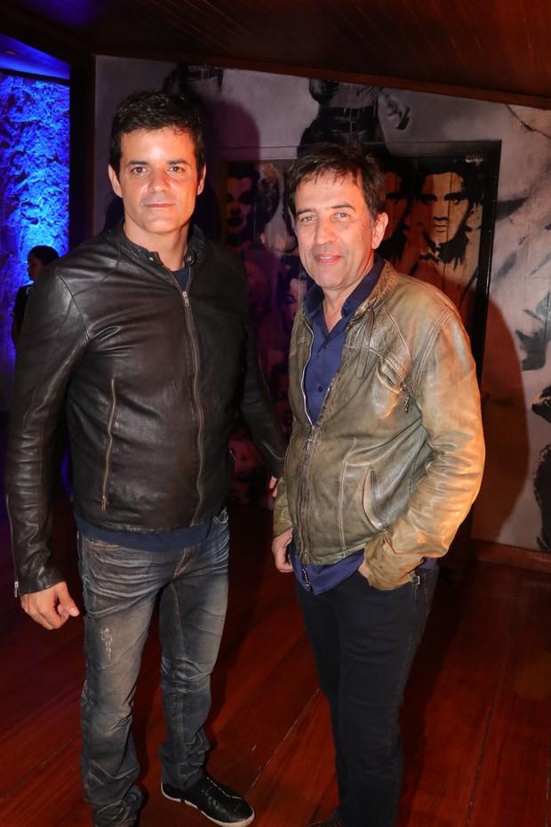 Jorge Pontual e Ricardo Almeida (Foto:  Fred Pontes/Divulgacao)