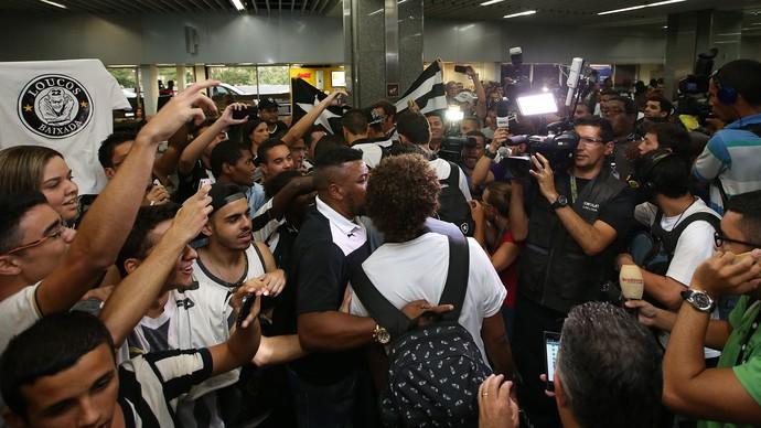 Willian Arão Botafogo (Foto: Satiro Sodré / SSpress)