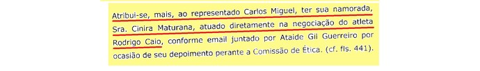 (editado) Parecer Comitê Ética São Paulo Página 16 (Foto: Arte: GloboEsporte.com)