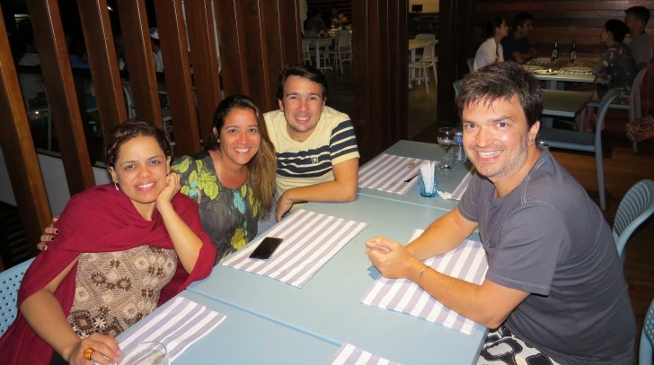 Equipe de produção Nas Ondas com Cláudio Xavier