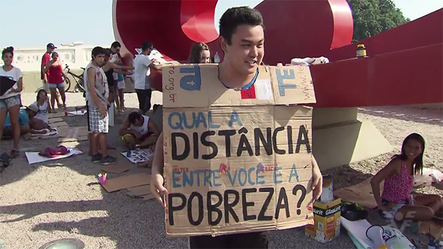 ONG existe há 10 anos no Brasil  (Foto: Reprodução/TV Tribuna)