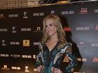 Carolina Dieckmann prestigia lançamento de filme em São Paulo