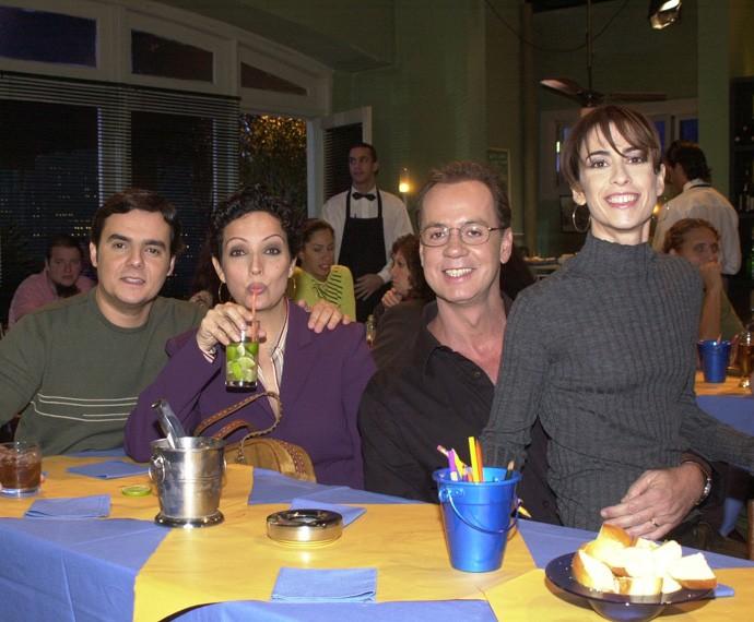 Betty Lago em participação na série Os Normais, em 2003 (Foto: João Miguel Júnior/TV Globo )