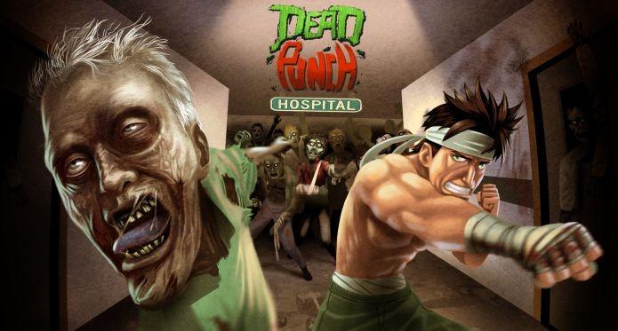 Dead Punch Hospital te coloca no papel de Jack Punch, contra os zumbis (Foto: Divulgação)