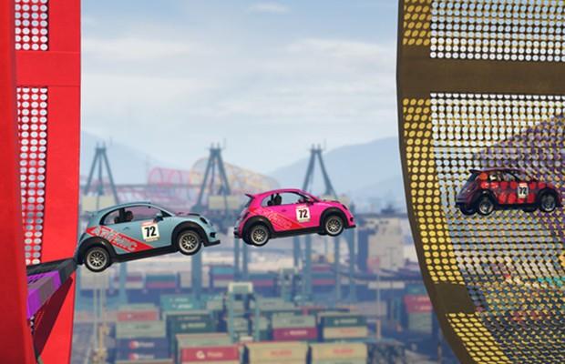 """Grand Theft Auto """"Cunning Stunts"""" (Foto: Divulgação)"""