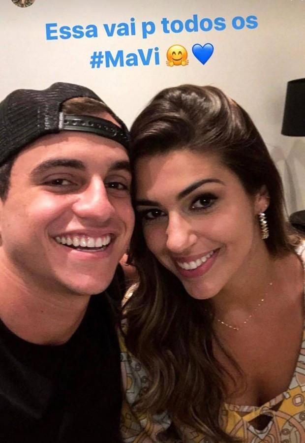 Manoel e Vivian (Foto: Reprodução/Instagram)