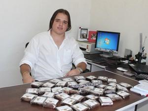 João Batista começou o empreendimento com 19 anos em Teresina (Foto: Gilcilene Araújo/G1)