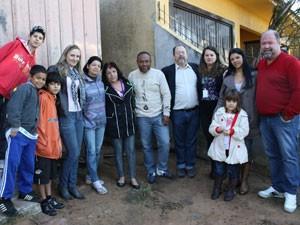 Família reunida Novo Hamburgo (Foto: Renata Arteiro/Divulgação)