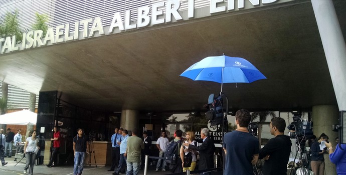 Hospital Albert Einstein, Pelé (Foto: Leonardo Lourenço)
