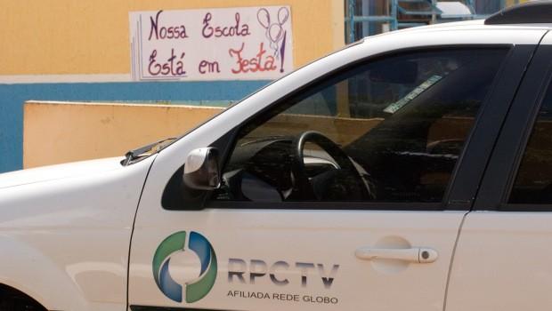 Premiação aconteceu nas escolas do vencedores e teve a presença da equipe da RPCTV (Foto: Divulgação/RPCTV)