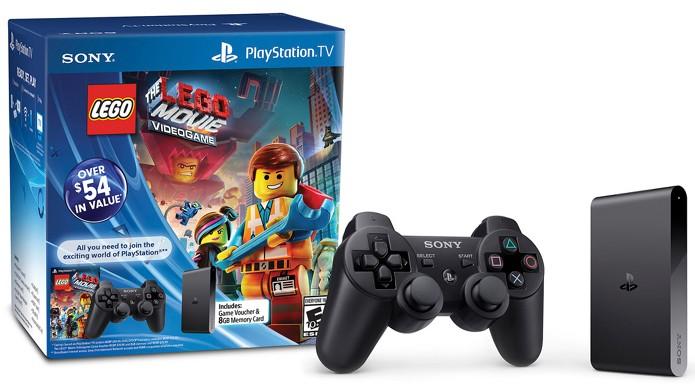 PlayStation TV será vendido em pacote individual ou com The LEGO Movie Videogame (Foto: PlayStation Blog)