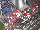 Sindicalistas fazem atos a favor da Petrobras em 24 estados e no DF