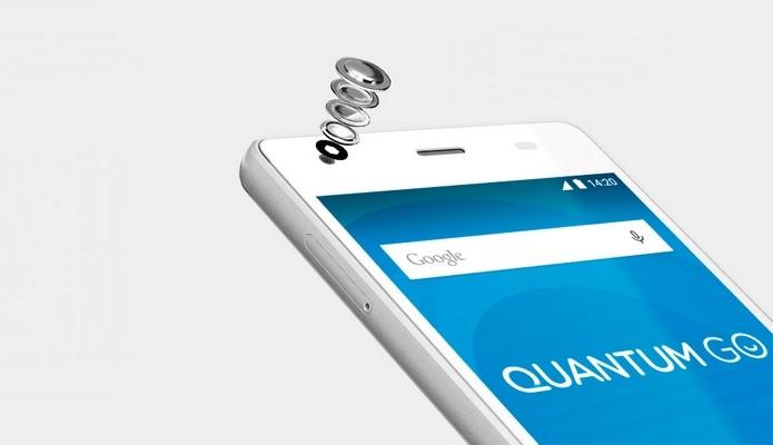Quantum Go traz câmeras de 5 e 13 megapixels (Foto: Divulgação)