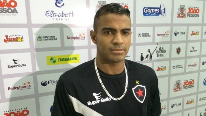 Jó Boy, Botafogo-PB (Foto: Lucas Barros / GloboEsporte.com)