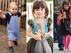 Príncipe George é eleito pelos internautas a criança mais estilosa