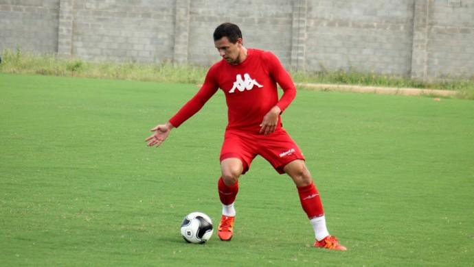 Luiz Eduardo - atacante do América-RN (Foto: Canindé Pereira/Divulgação)