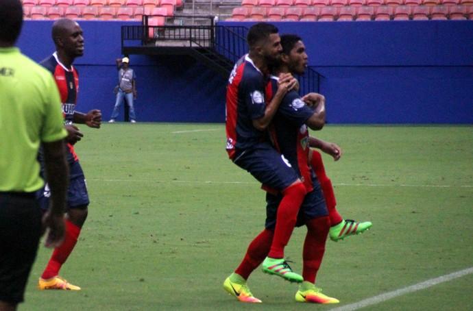Fast vence Santos-AP Copa Verde (Foto: Marcos Dantas)
