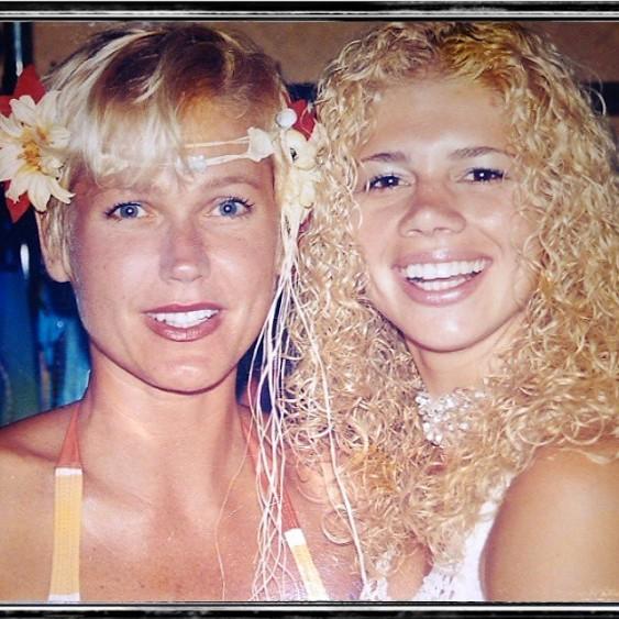 Xuxa e Cátia Paganote (Foto: Reprodução/ Instagram)