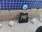PRF e PM apreendem cerca de 140 kg de droga em abordagem na BR-153
