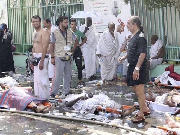 Centenas de pessoas morreram em confusão durante a peregrinação a Meca nesta quinta-feira (24) (Foto: Reuters)