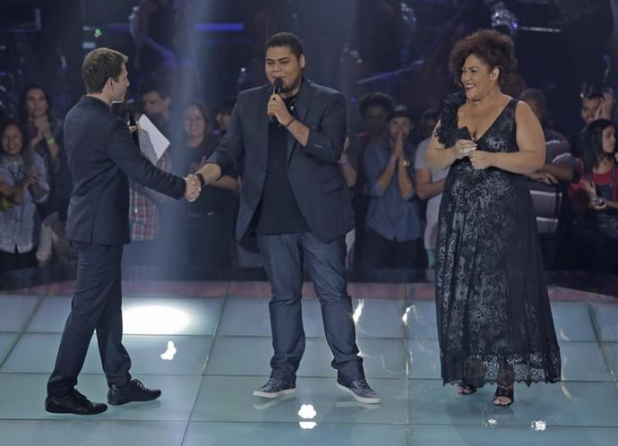 Danilo Franco vence disputa com Cinthia Ribeiro (Foto: Artur Meninea/Gshow)