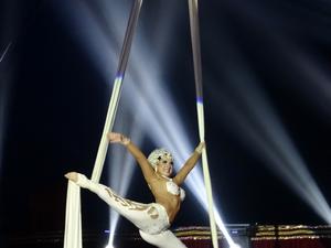 Cena do espetáculo do Circo Kroner  (Foto: Amora/ Divulgação)