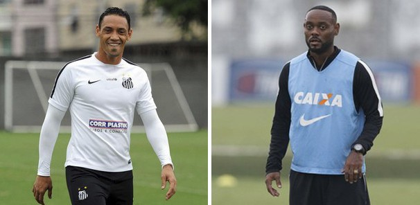 Ricardo Oliveira e Vagner Love devem se enfrentar no clássico (Foto: reprodução Globoesporte.com)