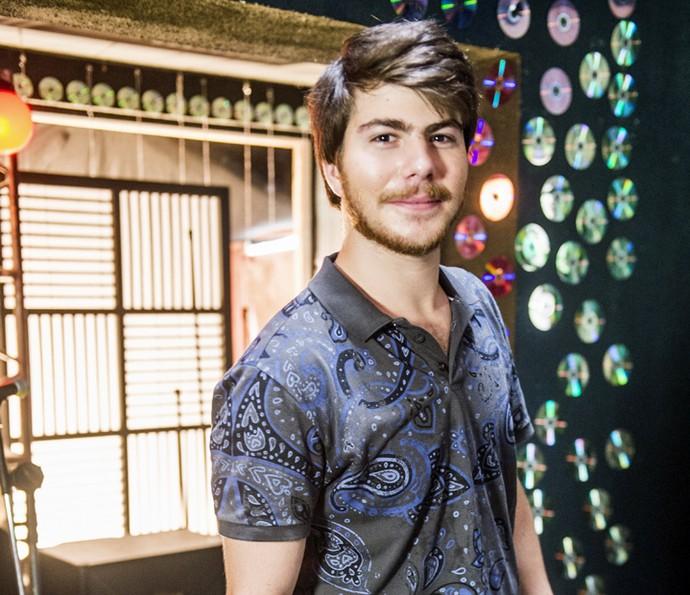 Thales Cavalcanti interpreta o soropositivo Henrique (Foto: João Miguel Junior/TV Globo)