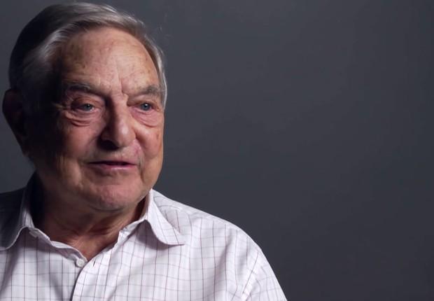 O megainvestidor bilionário George Soros (Foto: Divulgação)