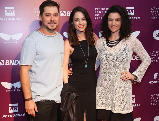 Bruno Torres, Rosanne Mulholland e Fernanda Carvalho Leite (Foto: Roberto Filho/Brazil News)