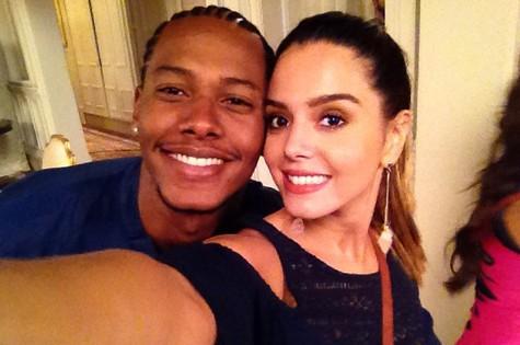 Danilo Ferreira e Giovanna Lancellotti (Foto: Arquivo pessoal)