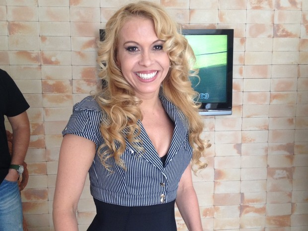 Cantora Joelma vai estrear sua carreira solo em Goiânia, Goiás (Foto: Fernanda Borges/G1)