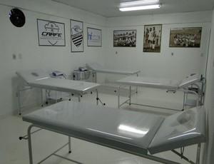 Centro Avançado de Reabilitação Física Esportiva Comercial (Foto: Gabriel Lopes / Comercial FC)