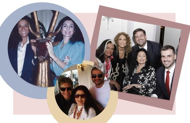 Fashionistas prestam homenagem a Carmen Mayrink Veiga (Foto: Reprodução)