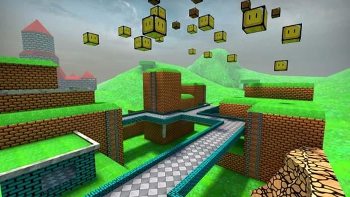 Fase de Mario pode ser baixada em CS:GO (Foto: Divulgação/Valve)