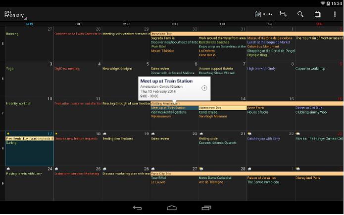 DigCal oferece um bonito e eficiente calendário para o Android (Foto: Divulgação)