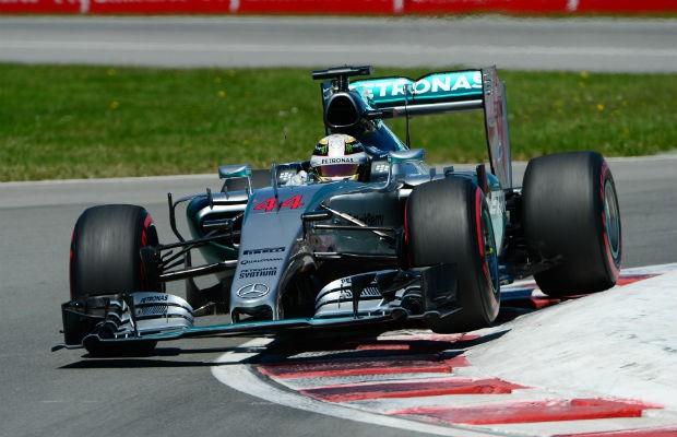 Mercedes tem vantagem no GP do Canadá (Foto: Divulgação)